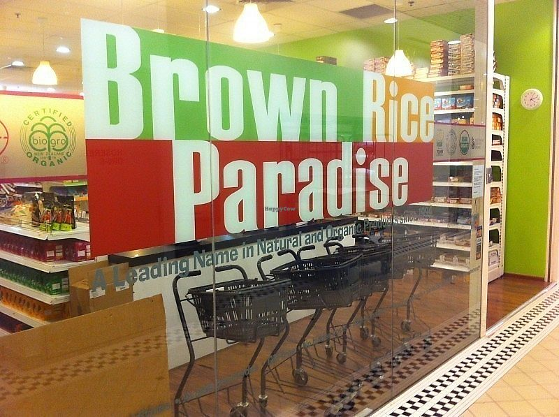 """Photo of Brown Rice Paradise  by <a href=""""/members/profile/CherylQuincy"""">CherylQuincy</a> <br/>Store front (photo by The Smart Local) <br/> February 7, 2018  - <a href='/contact/abuse/image/111438/355868'>Report</a>"""