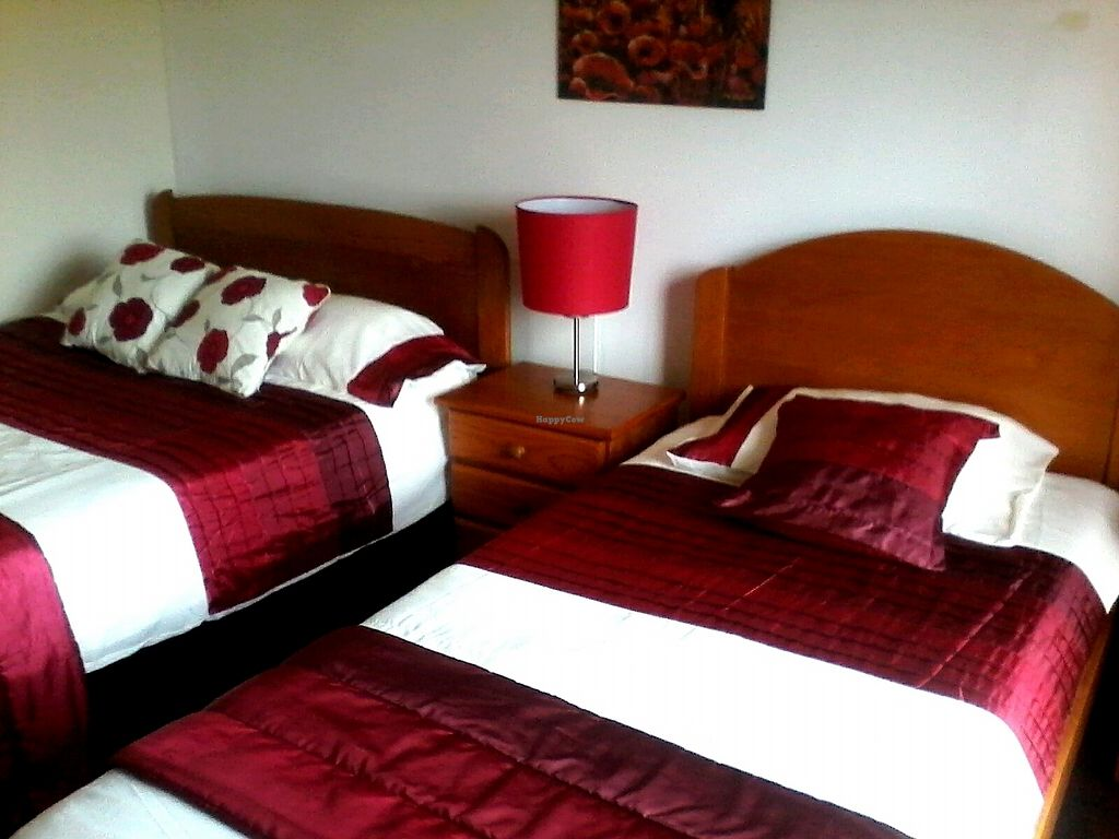 """Photo of Casa Das Flores  by <a href=""""/members/profile/CarolynCrawford"""">CarolynCrawford</a> <br/>The poppy room, double bed and single bed with balcony <br/> March 15, 2018  - <a href='/contact/abuse/image/111452/370976'>Report</a>"""