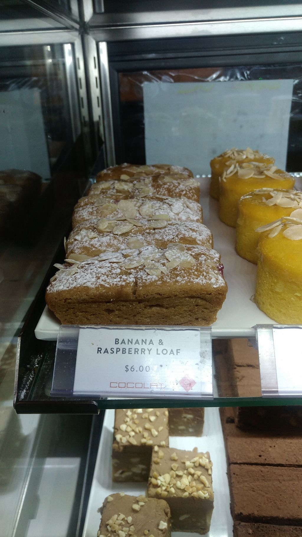 """Photo of Cocolat - Adelaide Airport  by <a href=""""/members/profile/lasm"""">lasm</a> <br/>Vegan soft cake <br/> February 8, 2018  - <a href='/contact/abuse/image/111480/356211'>Report</a>"""