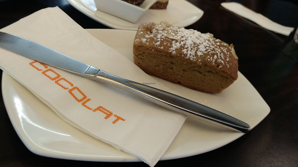 """Photo of Cocolat - Adelaide Airport  by <a href=""""/members/profile/lasm"""">lasm</a> <br/>Delicious vegan cake <br/> February 8, 2018  - <a href='/contact/abuse/image/111480/356214'>Report</a>"""