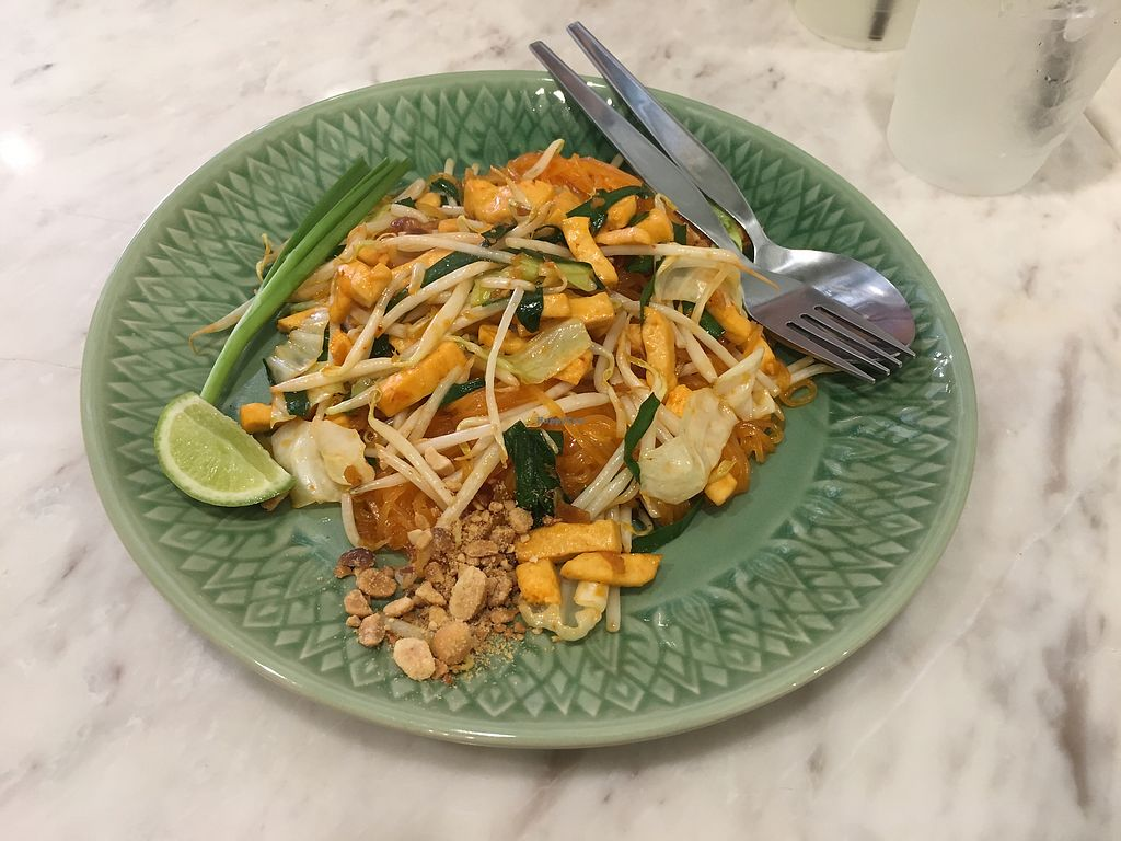 """Photo of Home Cafe  by <a href=""""/members/profile/CamilaSilvaL"""">CamilaSilvaL</a> <br/>Pad thai with tofu  <br/> February 26, 2018  - <a href='/contact/abuse/image/111486/364020'>Report</a>"""