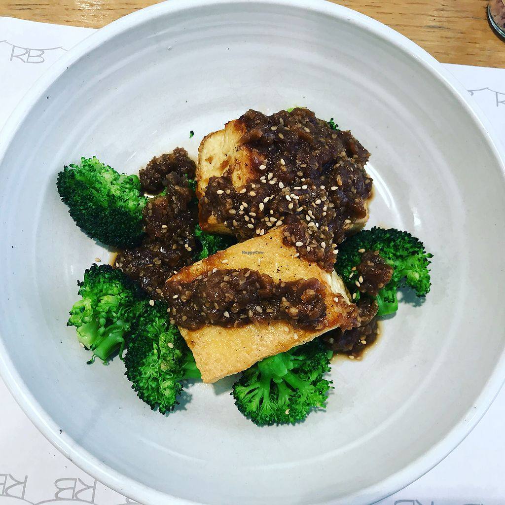 """Photo of Rose Bakery  by <a href=""""/members/profile/Sairrr"""">Sairrr</a> <br/>Tofu, broccoli and sesame  <br/> March 20, 2018  - <a href='/contact/abuse/image/111498/373206'>Report</a>"""