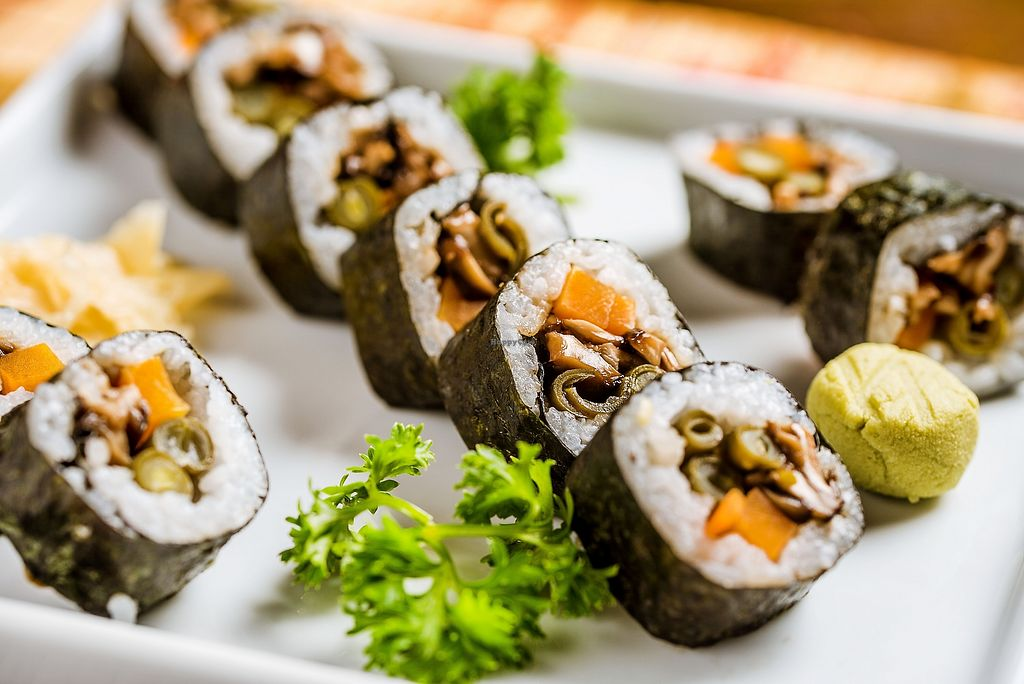 """Photo of Wakame Sushi  by <a href=""""/members/profile/Wakame"""">Wakame</a> <br/>makimono vege <br/> February 8, 2018  - <a href='/contact/abuse/image/111521/356350'>Report</a>"""