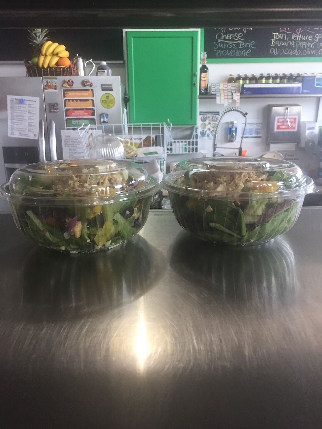 "Photo of Fresh Power Smoothies & Sandwiches  by <a href=""/members/profile/ssatar"">ssatar</a> <br/>organic tossed salad  <br/> February 9, 2018  - <a href='/contact/abuse/image/111531/356834'>Report</a>"