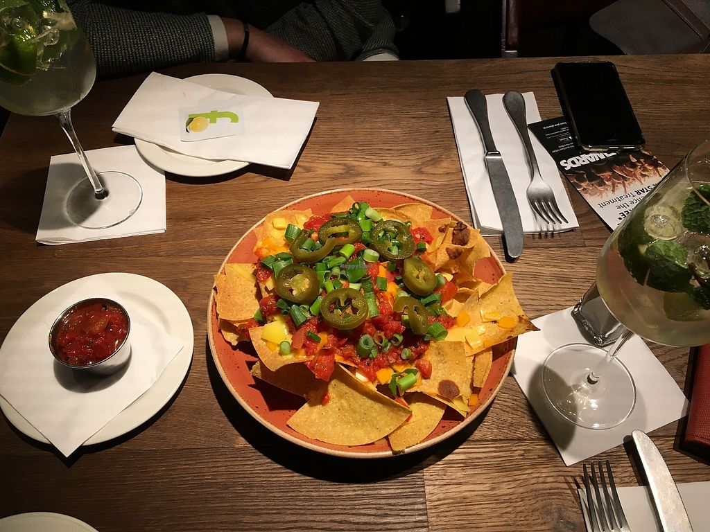 """Photo of Hard Rock Cafe  by <a href=""""/members/profile/ValentinaCarlotto"""">ValentinaCarlotto</a> <br/>Vegan nachos - delicious! <br/> February 7, 2018  - <a href='/contact/abuse/image/111536/356129'>Report</a>"""
