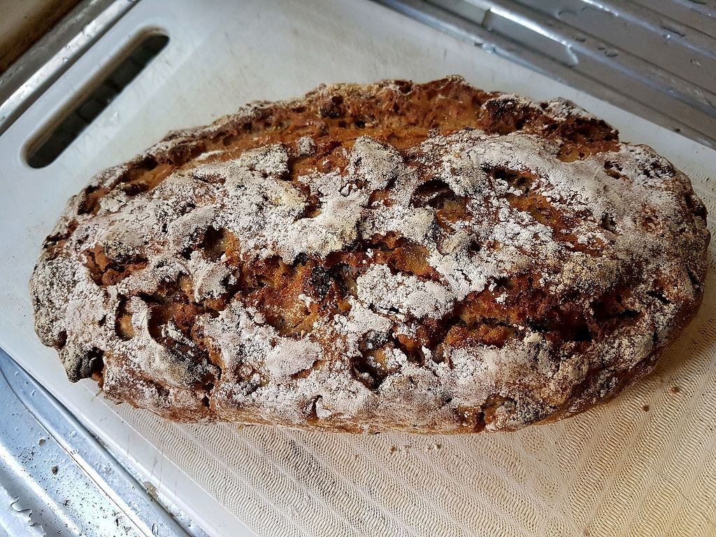 "Photo of Urban Loaf Factory  by <a href=""/members/profile/cleomy"">cleomy</a> <br/>Sweet Potato Sourdough Rye bread. Whole $12, Half $7 <br/> February 8, 2018  - <a href='/contact/abuse/image/111566/356405'>Report</a>"