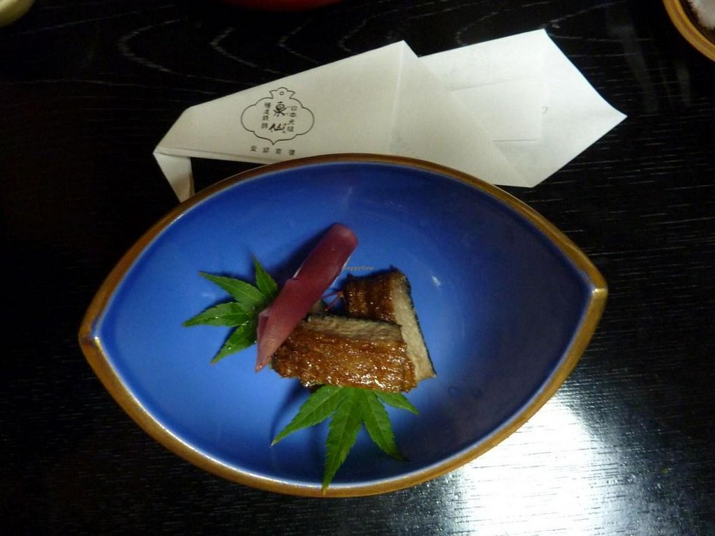 """Photo of REMOVED: Izusen  by <a href=""""/members/profile/delphis"""">delphis</a> <br/>One of the many dishes served at Izusen <br/> July 27, 2014  - <a href='/contact/abuse/image/11159/75222'>Report</a>"""