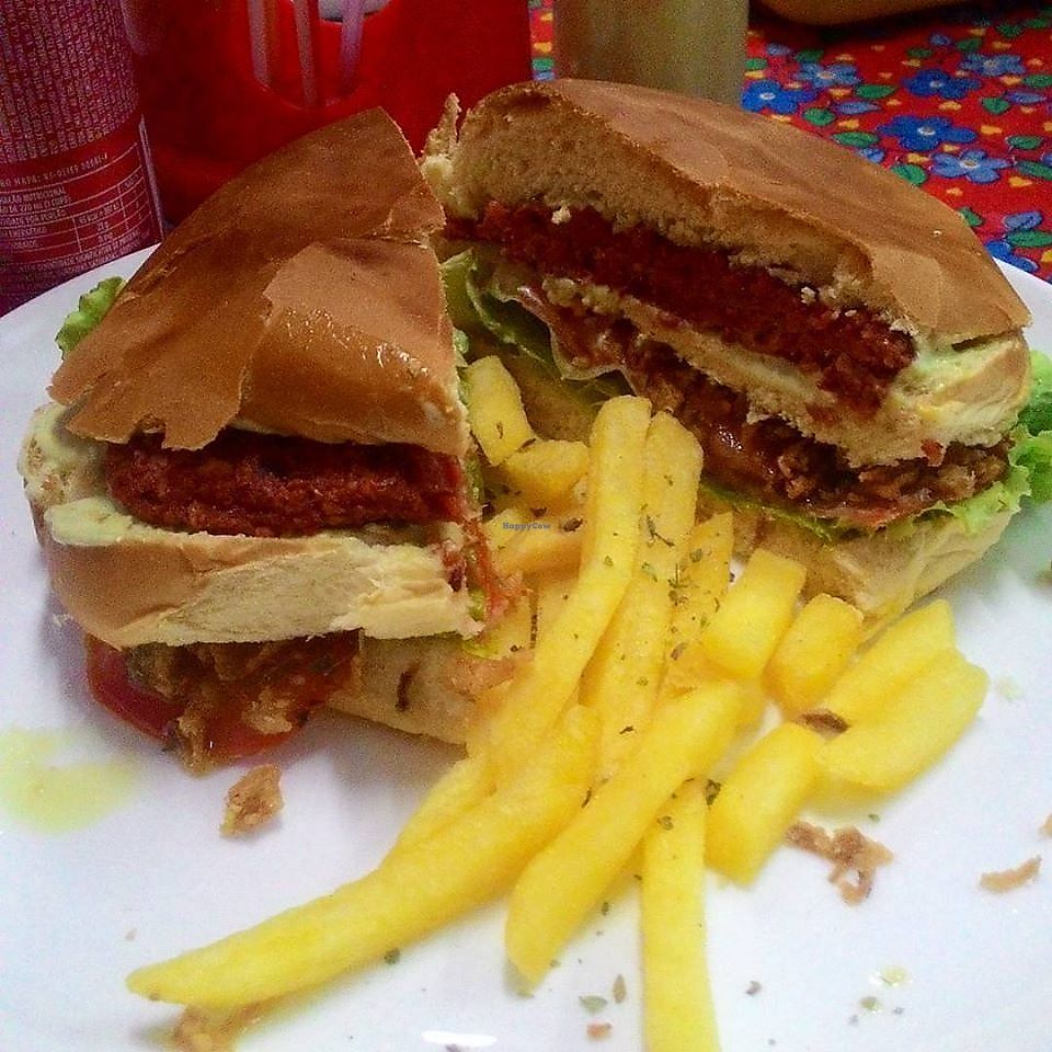 """Photo of Friitz  by <a href=""""/members/profile/itsumiyo"""">itsumiyo</a> <br/>Vegan burger <br/> February 10, 2018  - <a href='/contact/abuse/image/111611/357304'>Report</a>"""