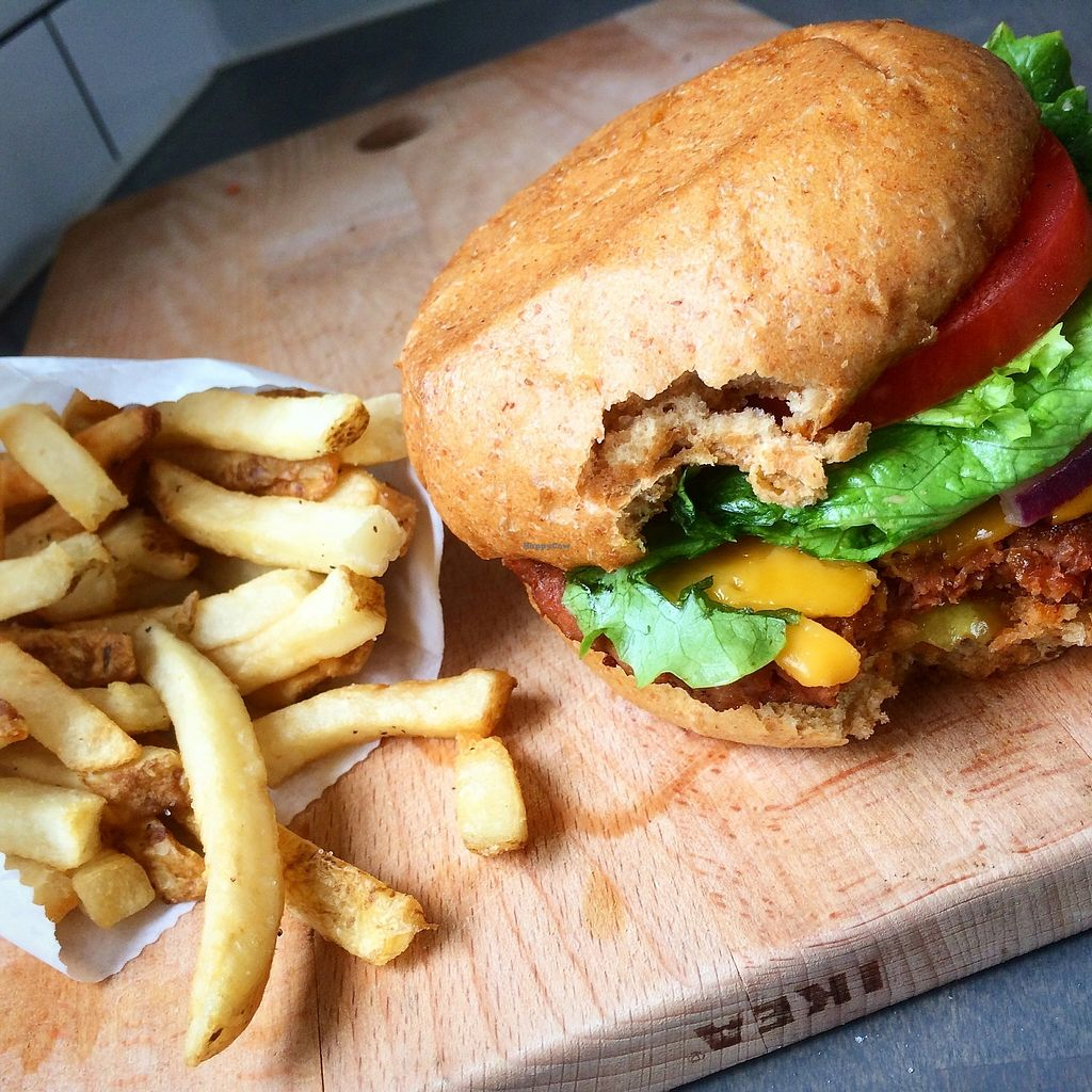 """Photo of Plow Burger Food Truck  by <a href=""""/members/profile/AlishaM"""">AlishaM</a> <br/>The original plow burger <br/> March 21, 2018  - <a href='/contact/abuse/image/111631/373925'>Report</a>"""