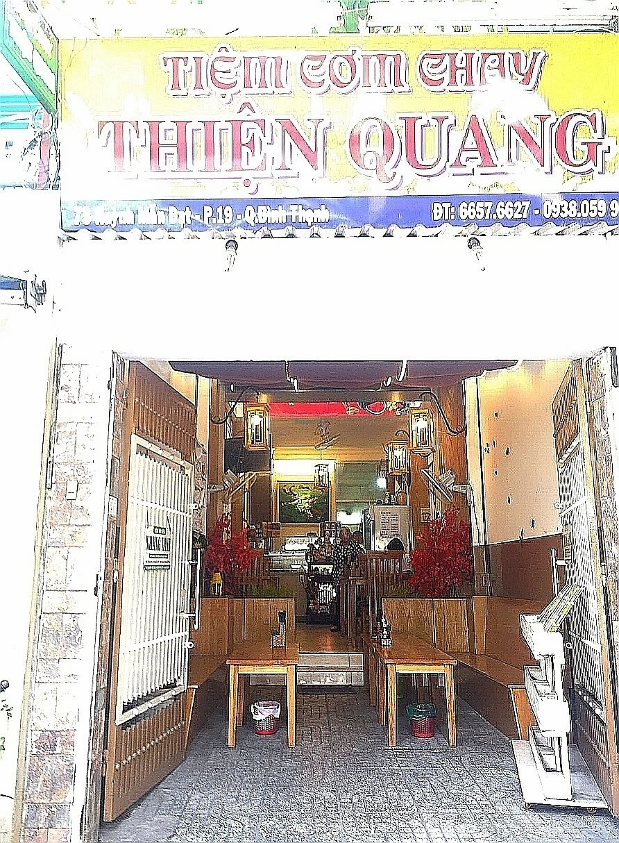 """Photo of Thien Quang  by <a href=""""/members/profile/M.driesel"""">M.driesel</a> <br/>Nice and clean indoor seetings and friendly English speaking staff.  <br/> February 10, 2018  - <a href='/contact/abuse/image/111633/357151'>Report</a>"""
