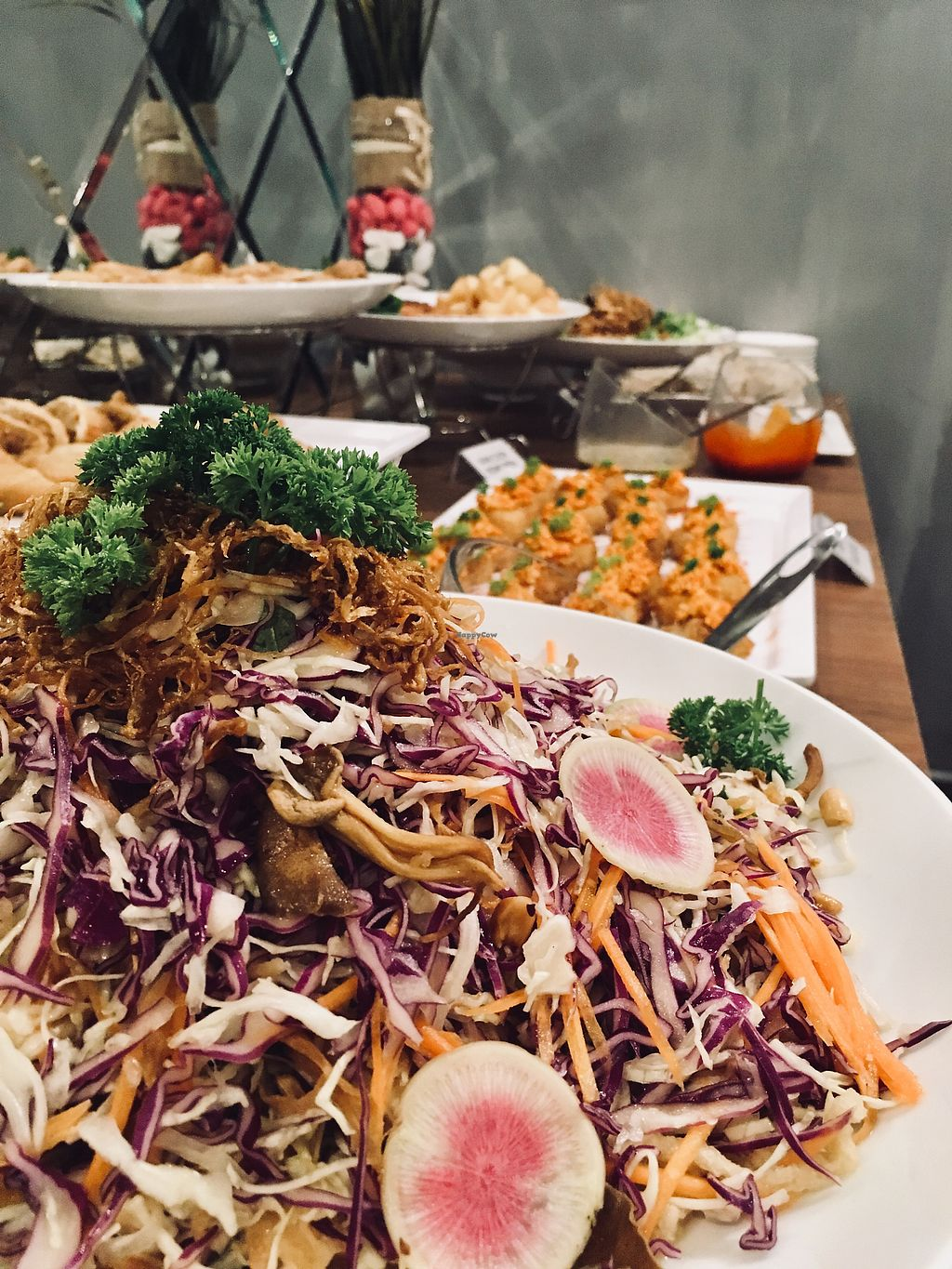 """Photo of Maha Vegan  by <a href=""""/members/profile/BastianSteinbach"""">BastianSteinbach</a> <br/> Vegan buffet 4 <br/> March 18, 2018  - <a href='/contact/abuse/image/111634/372207'>Report</a>"""