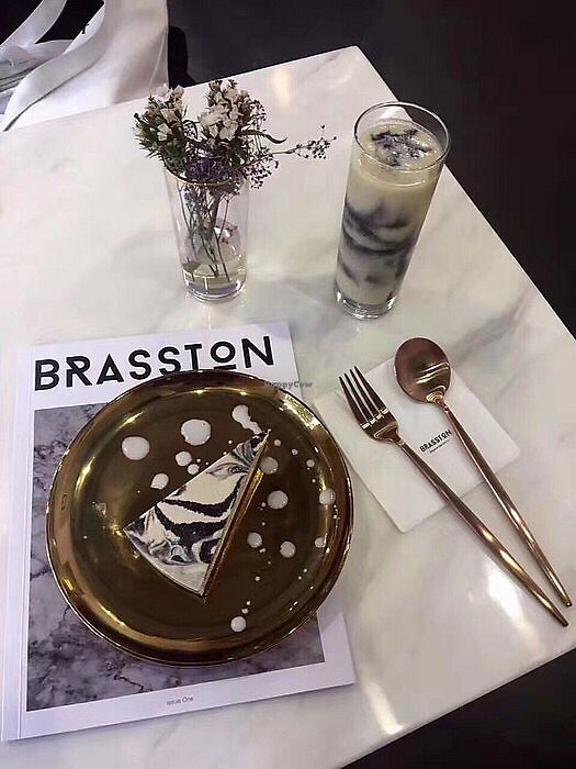 "Photo of Brasston  by <a href=""/members/profile/EloiseLeung"">EloiseLeung</a> <br/>Vegan marble cake <br/> February 10, 2018  - <a href='/contact/abuse/image/111676/357334'>Report</a>"