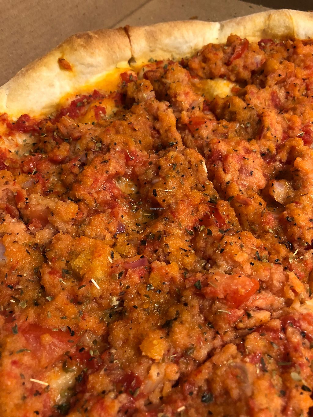 "Photo of Villaggio  by <a href=""/members/profile/Jcaldera"">Jcaldera</a> <br/>Old world pie! Panko, tomatoes and Italian spices! Yum! <br/> February 9, 2018  - <a href='/contact/abuse/image/111681/357009'>Report</a>"