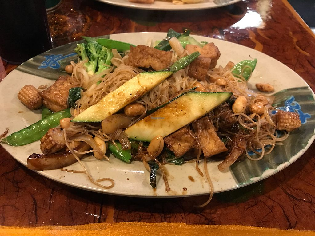 """Photo of Khan's Mongolian Barbecue  by <a href=""""/members/profile/KarenTatur"""">KarenTatur</a> <br/>Tofu Stir Fry <br/> February 11, 2018  - <a href='/contact/abuse/image/111708/358084'>Report</a>"""