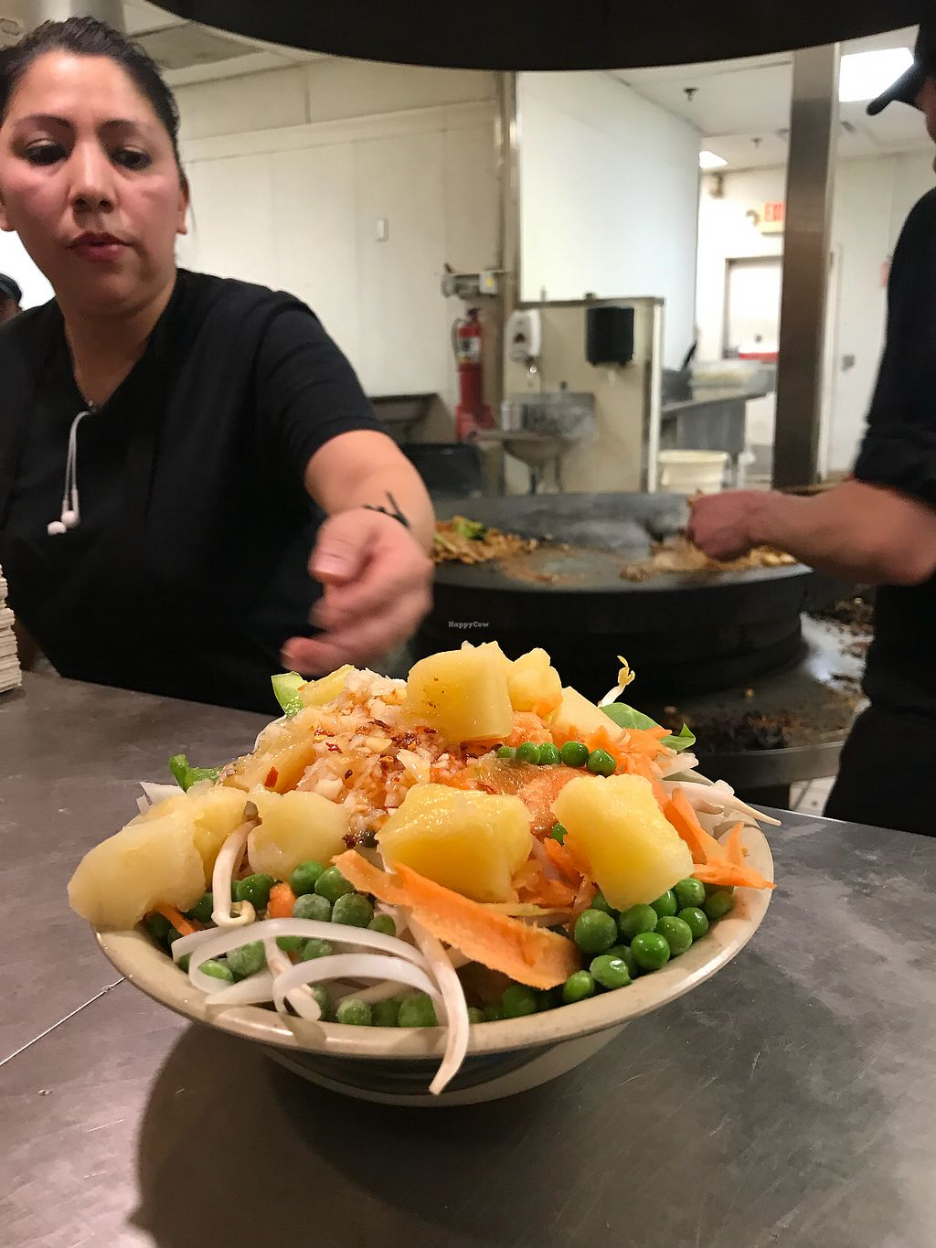 """Photo of Khan's Mongolian Barbecue  by <a href=""""/members/profile/KarenTatur"""">KarenTatur</a> <br/>Up for the grill <br/> February 11, 2018  - <a href='/contact/abuse/image/111708/358085'>Report</a>"""