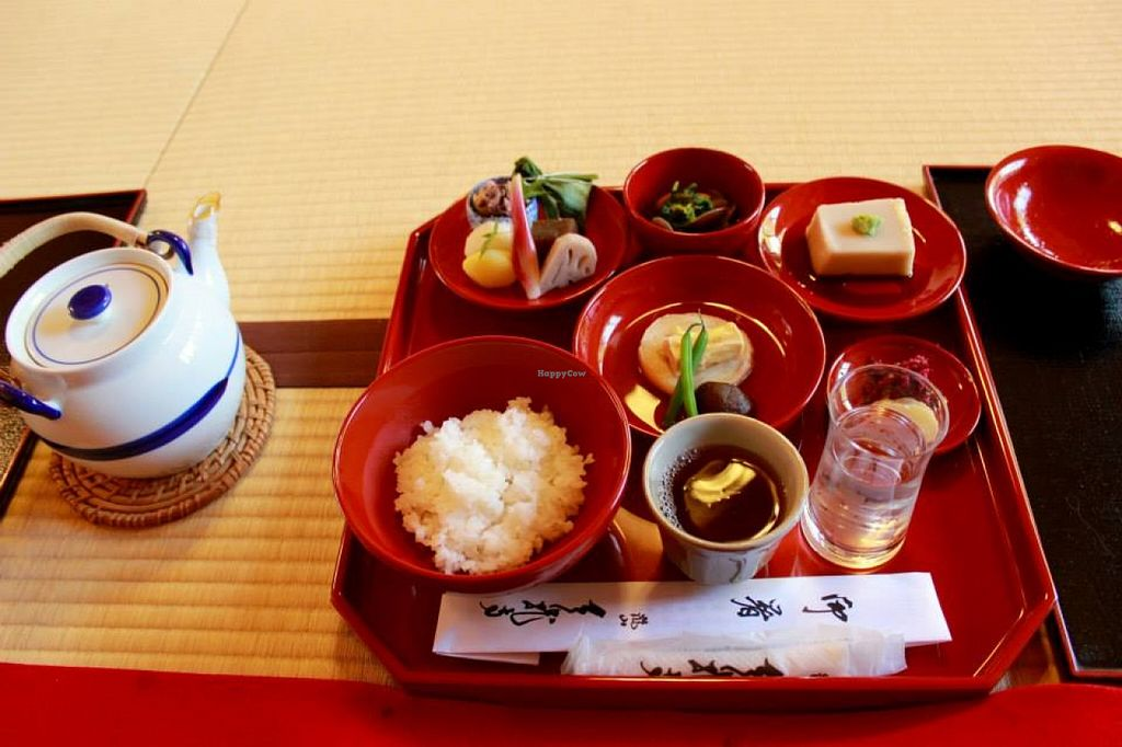 """Photo of Tenryuji Shigetsu  by <a href=""""/members/profile/SueClesh"""">SueClesh</a> <br/>set meal for 3000 yen <br/> November 12, 2015  - <a href='/contact/abuse/image/11170/124688'>Report</a>"""