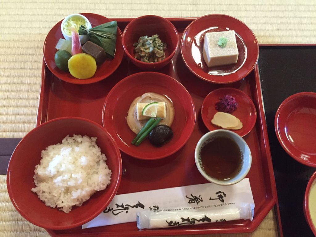 """Photo of Tenryuji Shigetsu  by <a href=""""/members/profile/Ajolote"""">Ajolote</a> <br/>lunch set <br/> July 11, 2016  - <a href='/contact/abuse/image/11170/159206'>Report</a>"""