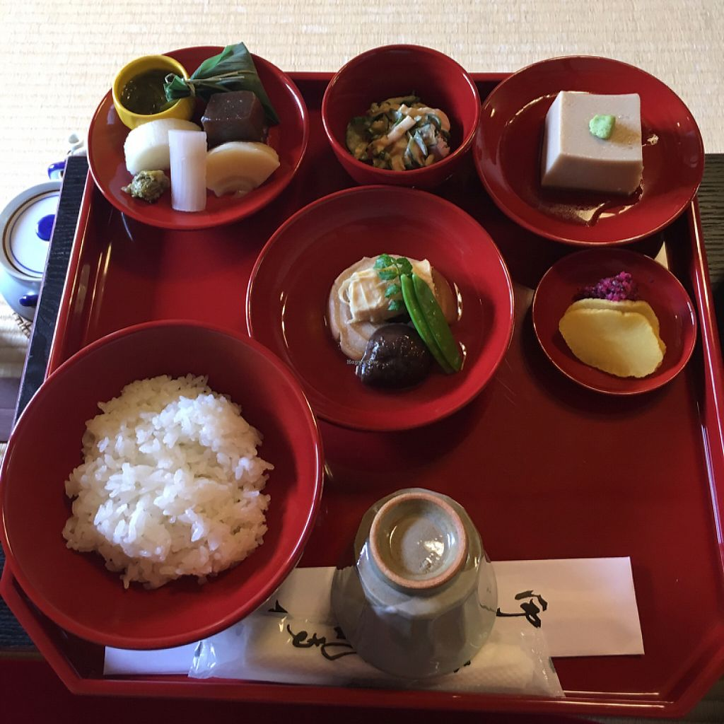 """Photo of Tenryuji Shigetsu  by <a href=""""/members/profile/Kerouac32"""">Kerouac32</a> <br/>My favorite meal in Japan  <br/> May 21, 2017  - <a href='/contact/abuse/image/11170/260962'>Report</a>"""