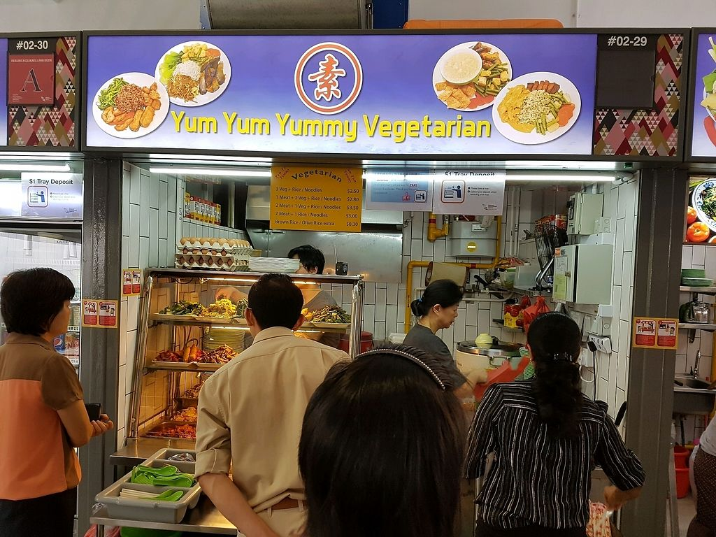 "Photo of Yum Yum Yummy Vegetarian - Bukit Merah Central  by <a href=""/members/profile/cleomy"">cleomy</a> <br/>Lunch time at Bkt Merah Central <br/> March 8, 2018  - <a href='/contact/abuse/image/111713/368069'>Report</a>"
