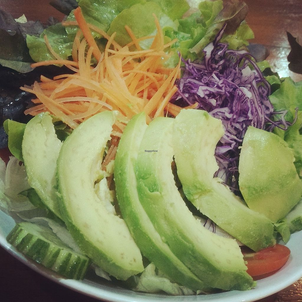 """Photo of Connect Cafe  by <a href=""""/members/profile/connectcafe"""">connectcafe</a> <br/>Green salad with avocado <br/> February 20, 2018  - <a href='/contact/abuse/image/111723/361550'>Report</a>"""