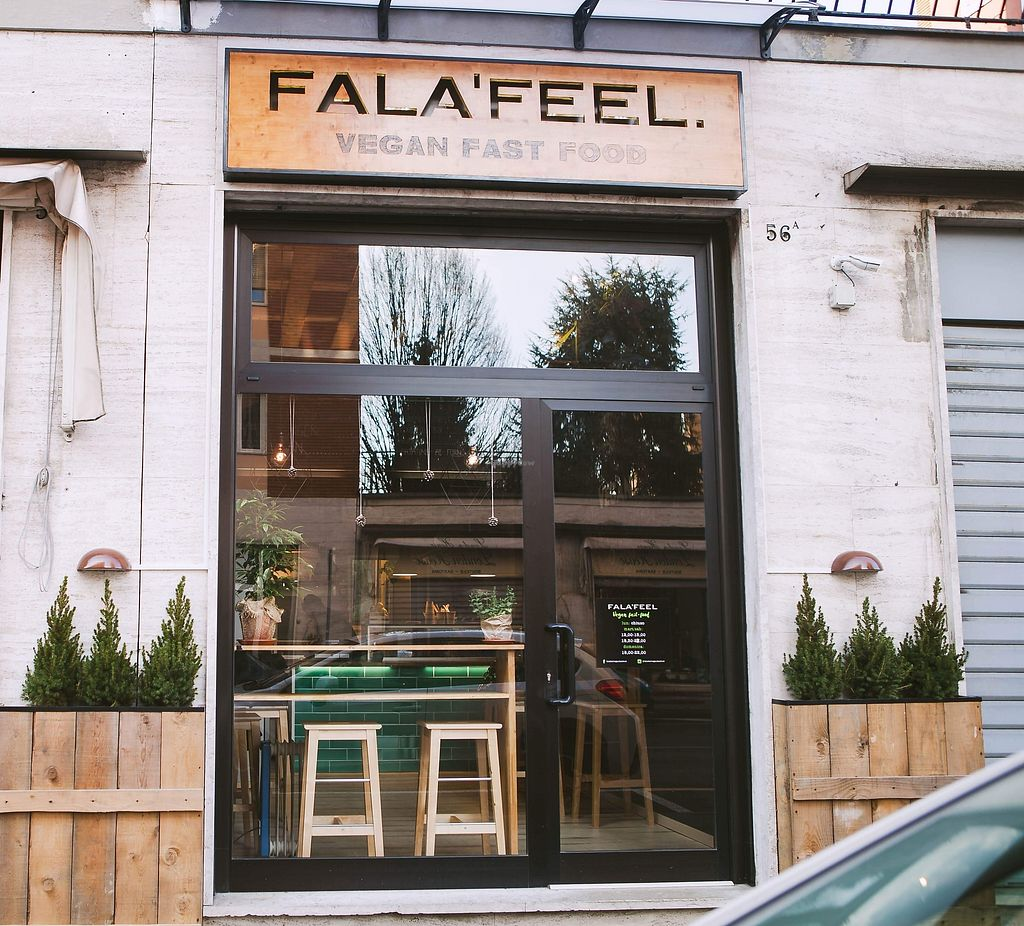"""Photo of Fala'feel  by <a href=""""/members/profile/falafeelveganfastfood"""">falafeelveganfastfood</a> <br/>Fala'feel vegan fast food ?  <br/> February 11, 2018  - <a href='/contact/abuse/image/111761/357680'>Report</a>"""