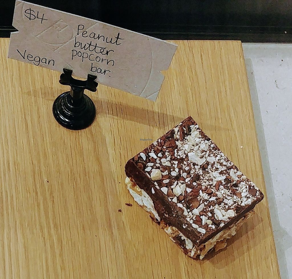 """Photo of Ratio Cocoa Roasters  by <a href=""""/members/profile/karlaess"""">karlaess</a> <br/>Peanut butter popcorn bar <br/> February 11, 2018  - <a href='/contact/abuse/image/111776/358038'>Report</a>"""