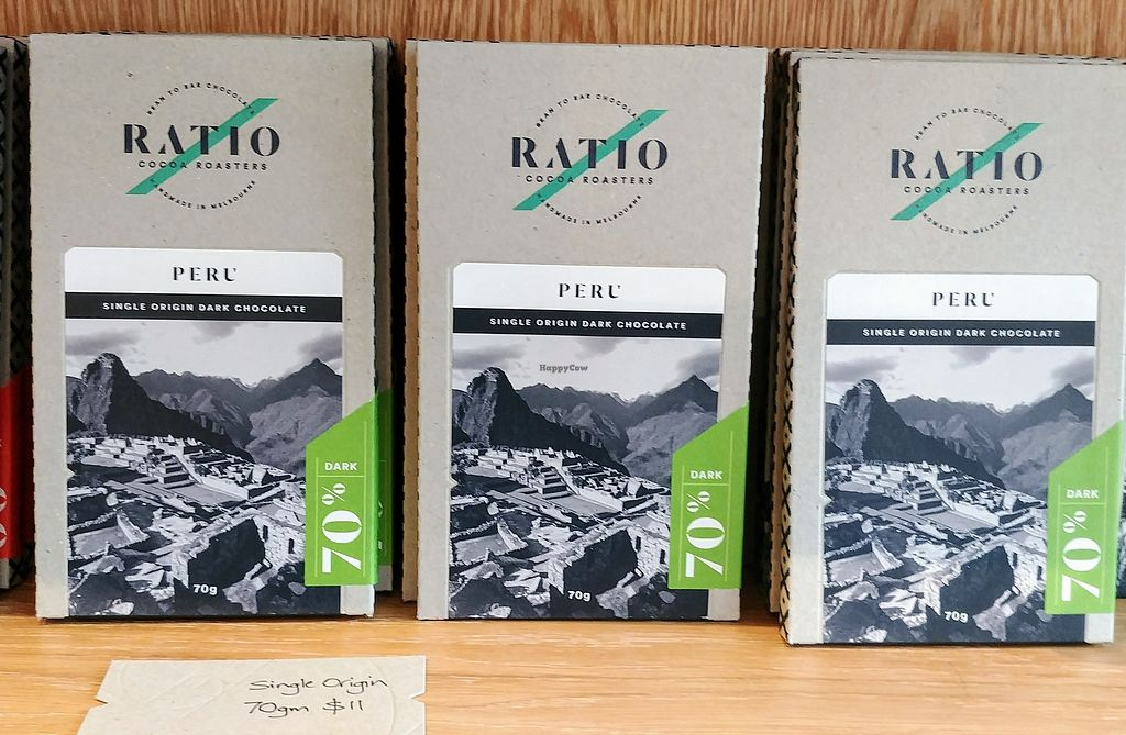 """Photo of Ratio Cocoa Roasters  by <a href=""""/members/profile/karlaess"""">karlaess</a> <br/>Peru: single origin dark chocolate <br/> February 11, 2018  - <a href='/contact/abuse/image/111776/358040'>Report</a>"""