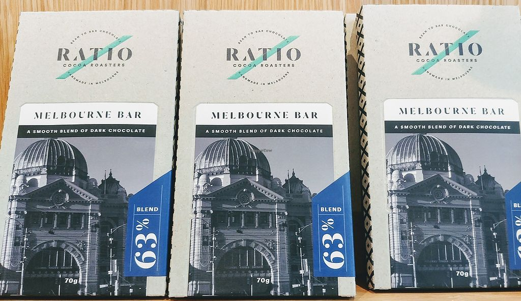 """Photo of Ratio Cocoa Roasters  by <a href=""""/members/profile/karlaess"""">karlaess</a> <br/>Melbourne Bar: single origin dark chocolate <br/> February 11, 2018  - <a href='/contact/abuse/image/111776/358042'>Report</a>"""