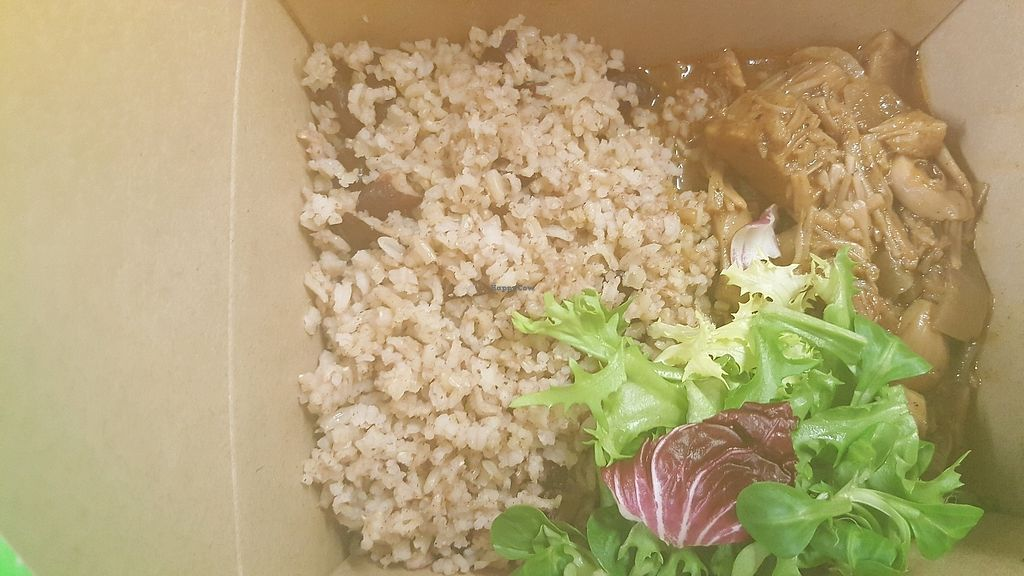 """Photo of The Beach Hut  by <a href=""""/members/profile/Clare"""">Clare</a> <br/>jerk jackfruit and rice <br/> February 15, 2018  - <a href='/contact/abuse/image/111786/359792'>Report</a>"""