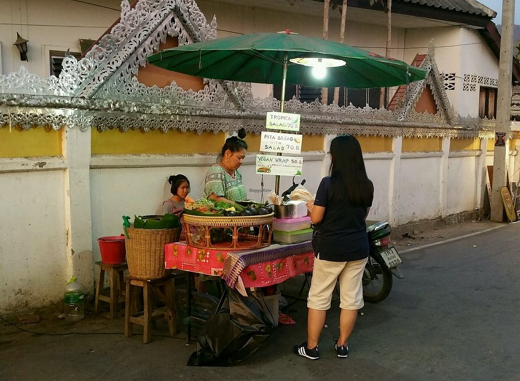 """Photo of Night Market - Vegan Wrap Stall  by <a href=""""/members/profile/Mike%20Munsie"""">Mike Munsie</a> <br/>food cart <br/> February 18, 2018  - <a href='/contact/abuse/image/111844/360893'>Report</a>"""