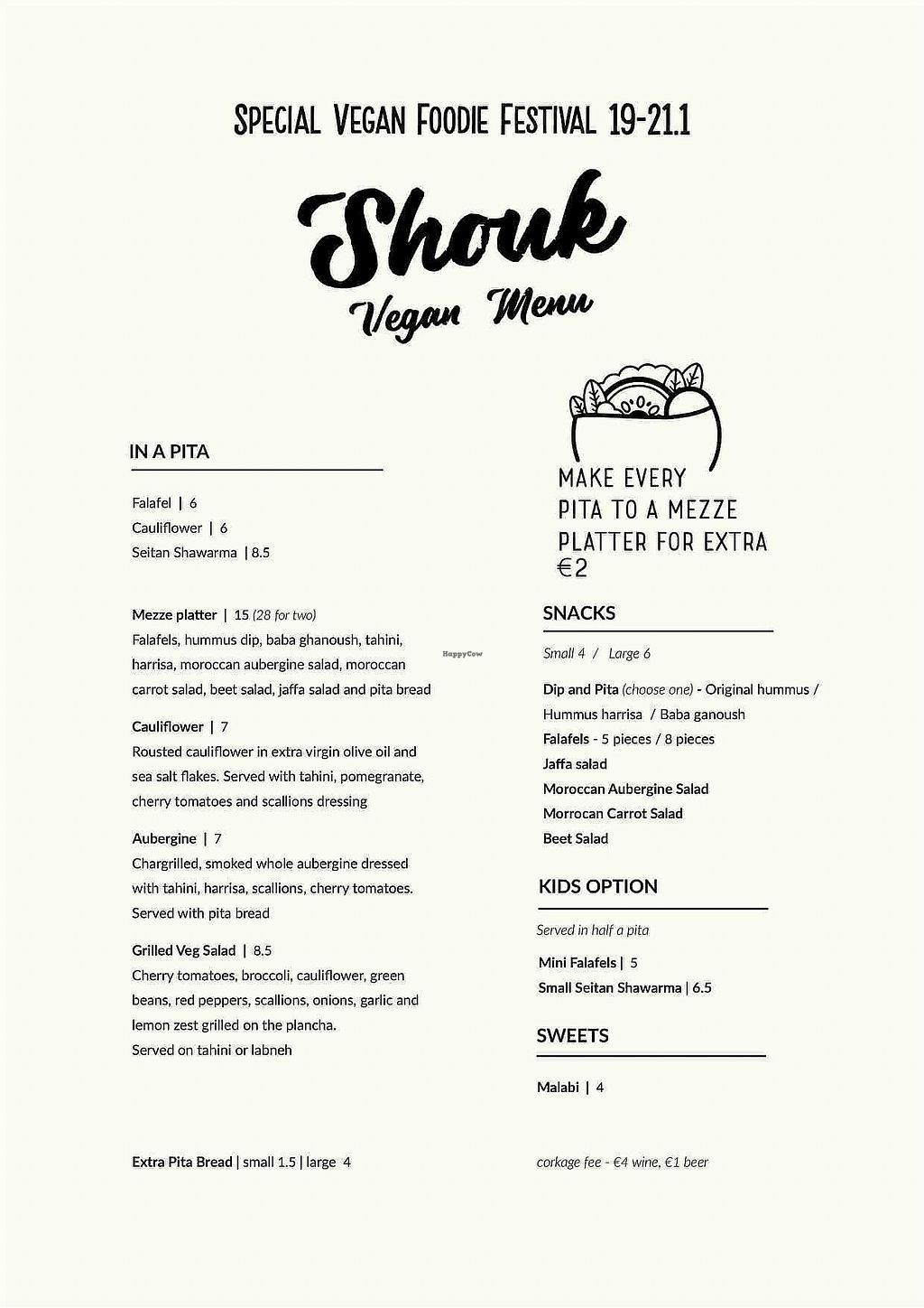 """Photo of Shouk  by <a href=""""/members/profile/Cnagyro"""">Cnagyro</a> <br/>Vegan menu <br/> February 14, 2018  - <a href='/contact/abuse/image/111873/359158'>Report</a>"""