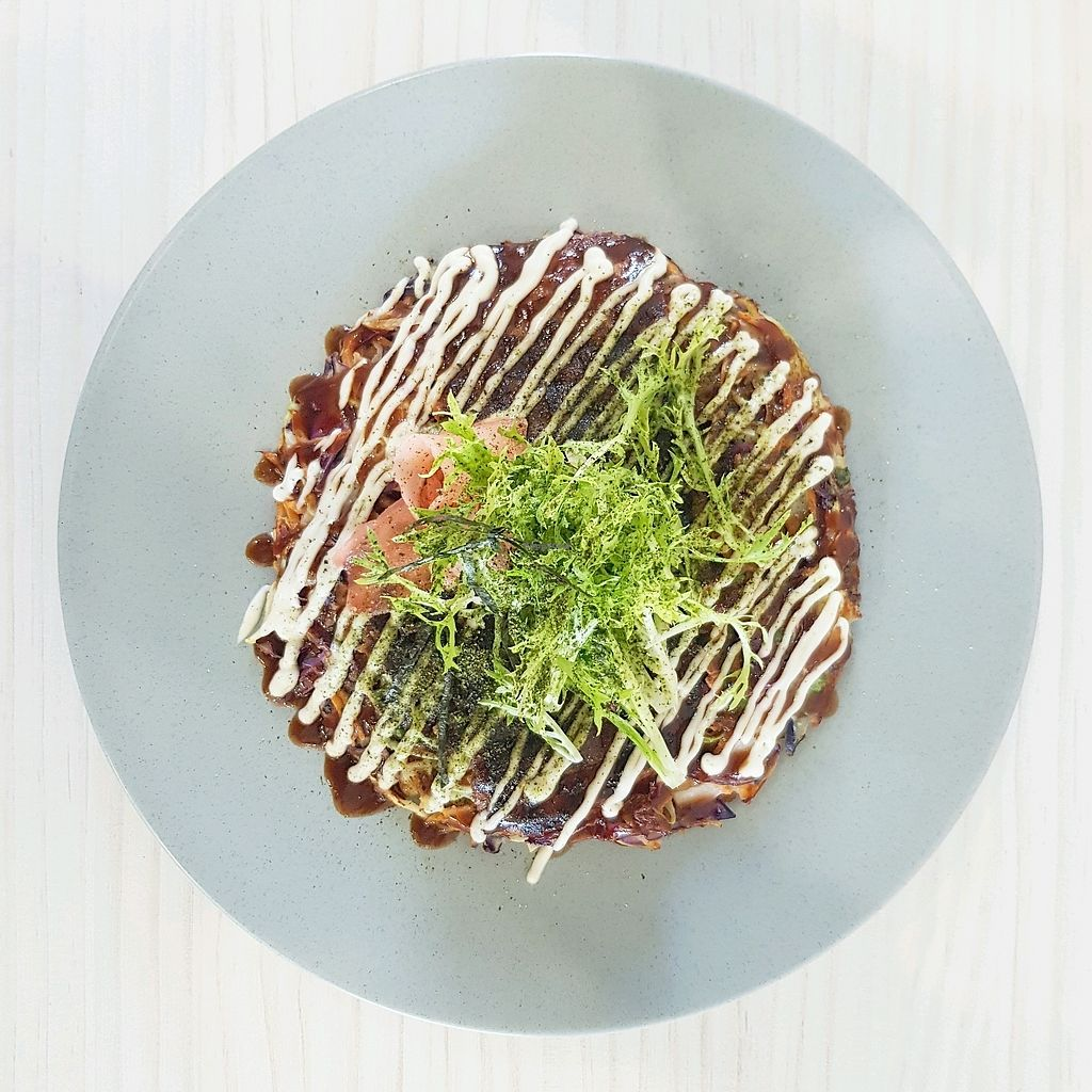 "Photo of Tonic & Grace  by <a href=""/members/profile/LeahMarie"">LeahMarie</a> <br/>Vegan Okonomiyaki <br/> February 13, 2018  - <a href='/contact/abuse/image/111904/358714'>Report</a>"