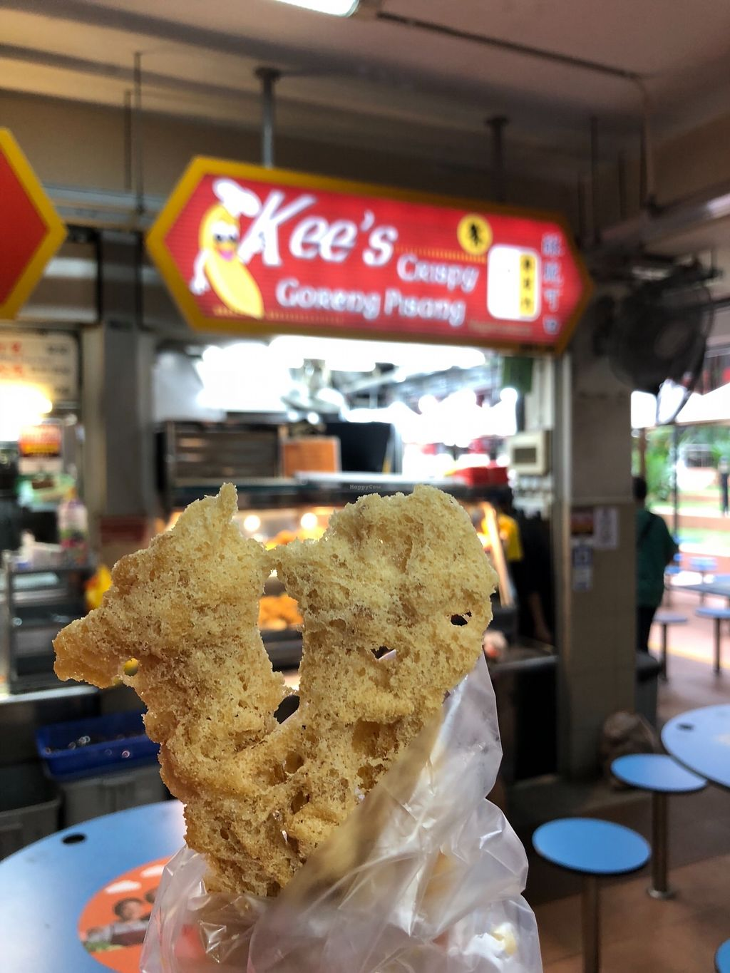 """Photo of Kee's Crispy Goreng Pisang  by <a href=""""/members/profile/CherylQuincy"""">CherylQuincy</a> <br/>Shop front. Close up of fried enoki mushrooms <br/> February 13, 2018  - <a href='/contact/abuse/image/111912/358653'>Report</a>"""