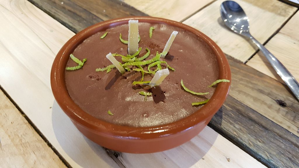 """Photo of L'Embargo  by <a href=""""/members/profile/JonJon"""">JonJon</a> <br/>Mousse au chocolat with ginger and lemon <br/> March 11, 2018  - <a href='/contact/abuse/image/111936/369440'>Report</a>"""
