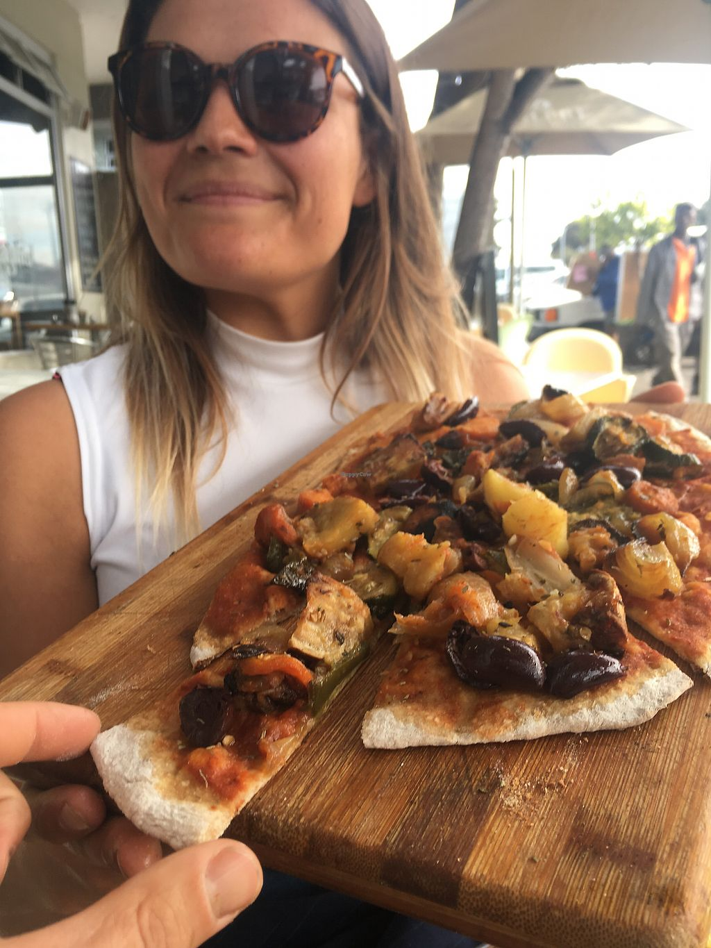 "Photo of Yiayias Mediterranean Kitchen  by <a href=""/members/profile/NikitaLeys"">NikitaLeys</a> <br/>Mediterranean veggie pizza!!!  <br/> April 16, 2018  - <a href='/contact/abuse/image/111975/386768'>Report</a>"