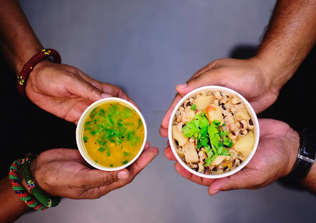 """Photo of Bridges Nepali Cuisine  by <a href=""""/members/profile/bridgesnepalicuisine"""">bridgesnepalicuisine</a> <br/>Two of our vegan soups! <br/> February 16, 2018  - <a href='/contact/abuse/image/111979/360137'>Report</a>"""