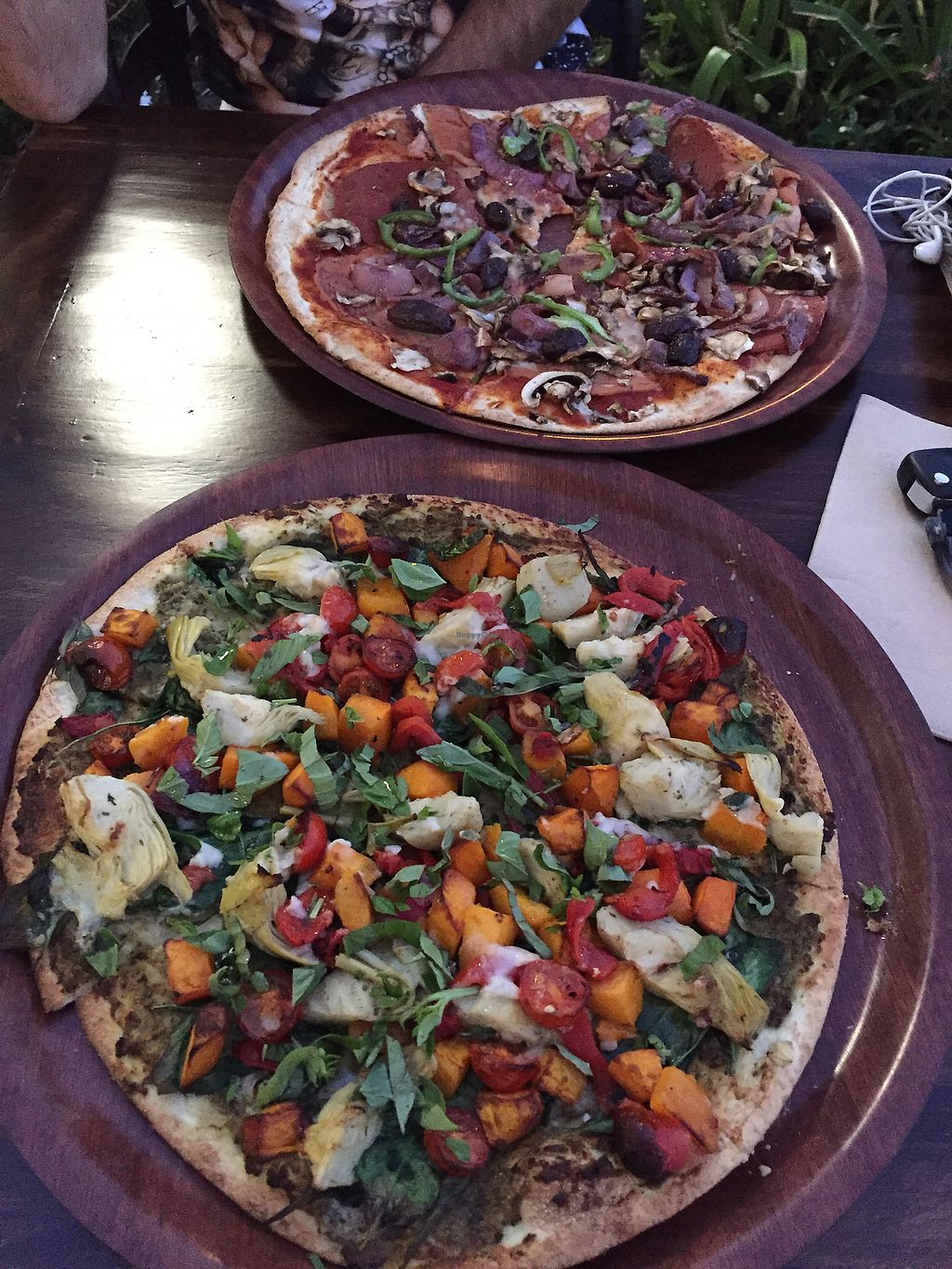 "Photo of Rustica Pizza Bar  by <a href=""/members/profile/CeciliaM"">CeciliaM</a> <br/>Incredible pizzas <br/> March 29, 2018  - <a href='/contact/abuse/image/112122/377547'>Report</a>"
