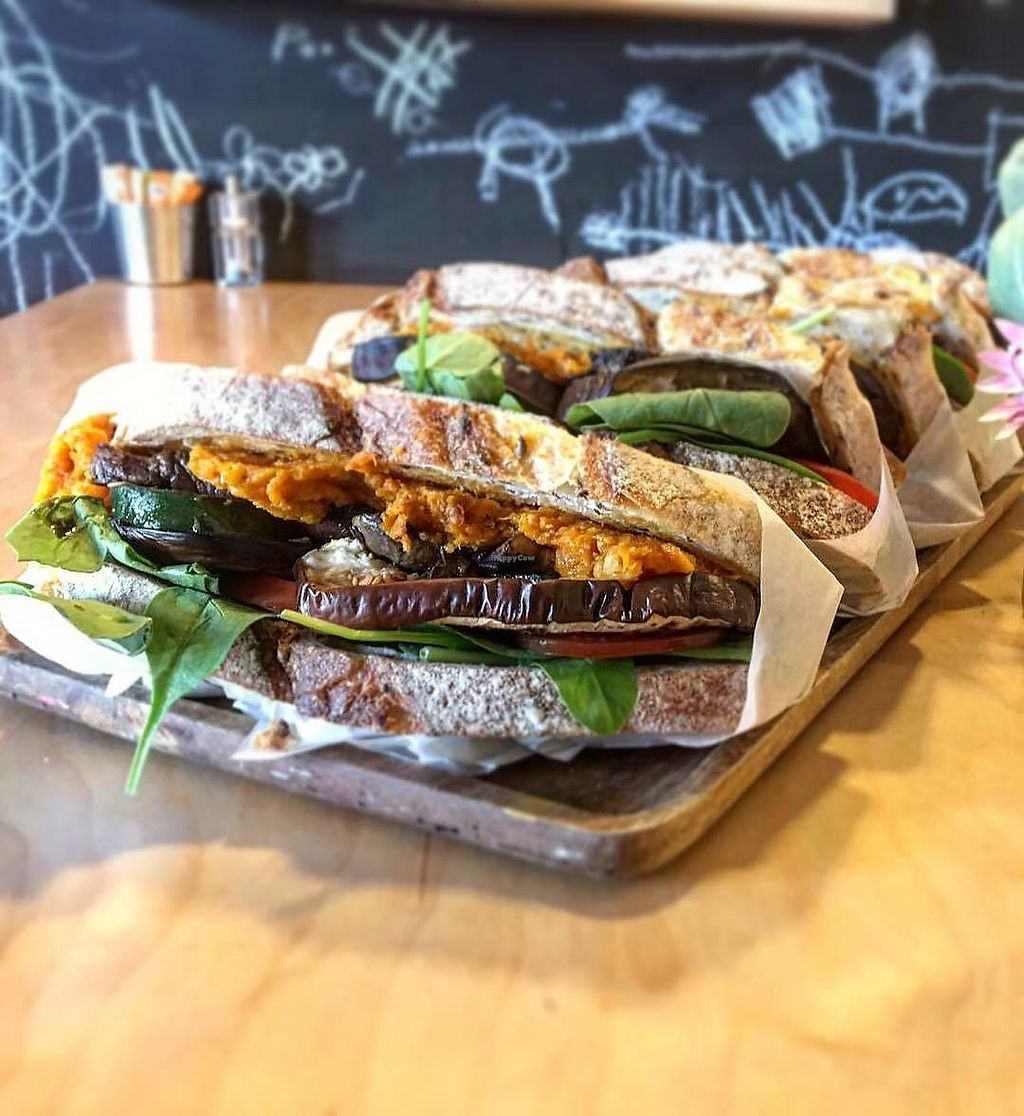 "Photo of Dbl Ristretto  by <a href=""/members/profile/AmyRobertson"">AmyRobertson</a> <br/>Vegan Toastie