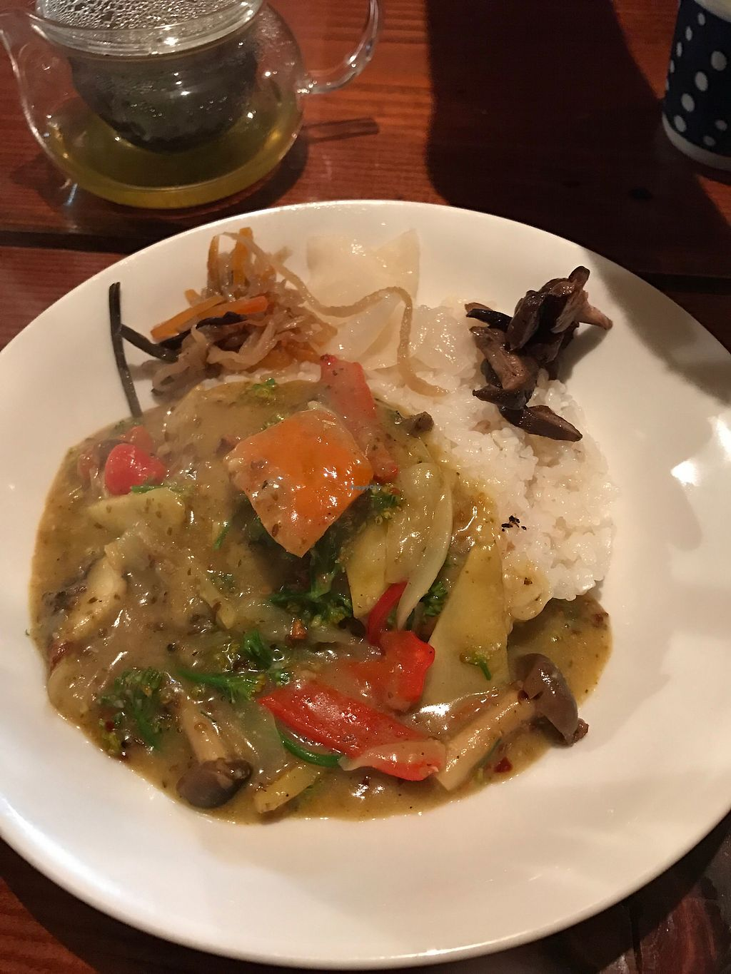 "Photo of Monpan Shokudo  by <a href=""/members/profile/Tpatel"">Tpatel</a> <br/>Japanese style vegetable curry with rice <br/> April 10, 2018  - <a href='/contact/abuse/image/112157/383139'>Report</a>"
