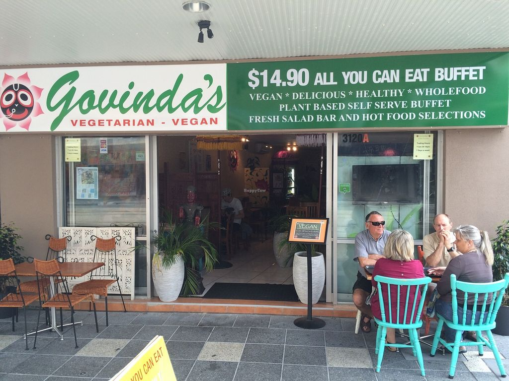 "Photo of Govindas - Surfers Paradise  by <a href=""/members/profile/Kiwi%20Wannabe"">Kiwi Wannabe</a> <br/>Store Front <br/> September 14, 2015  - <a href='/contact/abuse/image/11216/117706'>Report</a>"