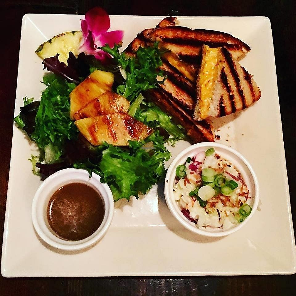"""Photo of The Tilted Tiki  by <a href=""""/members/profile/jgg1477"""">jgg1477</a> <br/>Vegan grilled cheese! <br/> March 26, 2018  - <a href='/contact/abuse/image/112257/376460'>Report</a>"""