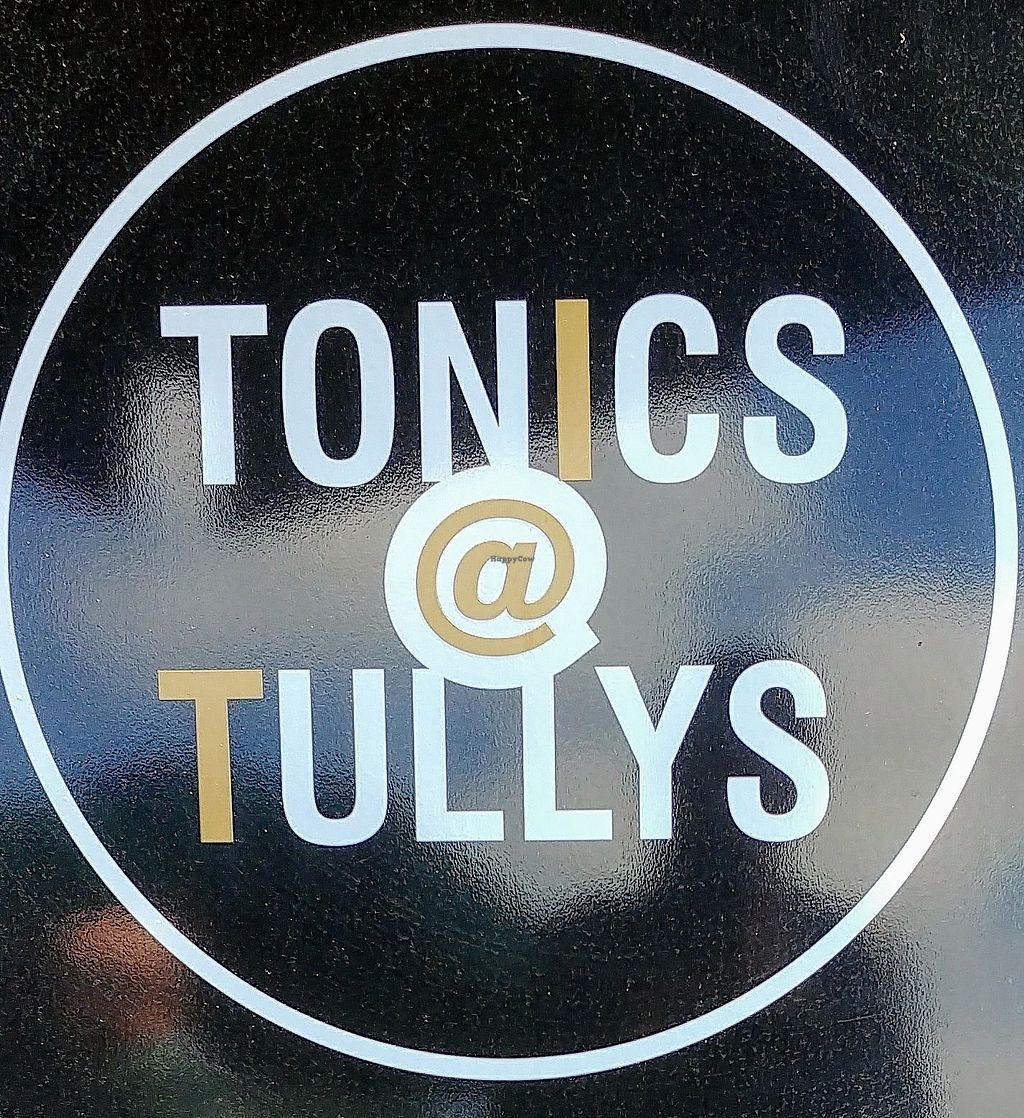 """Photo of Tonics@Tullys  by <a href=""""/members/profile/karlaess"""">karlaess</a> <br/>Logo <br/> February 16, 2018  - <a href='/contact/abuse/image/112271/360128'>Report</a>"""