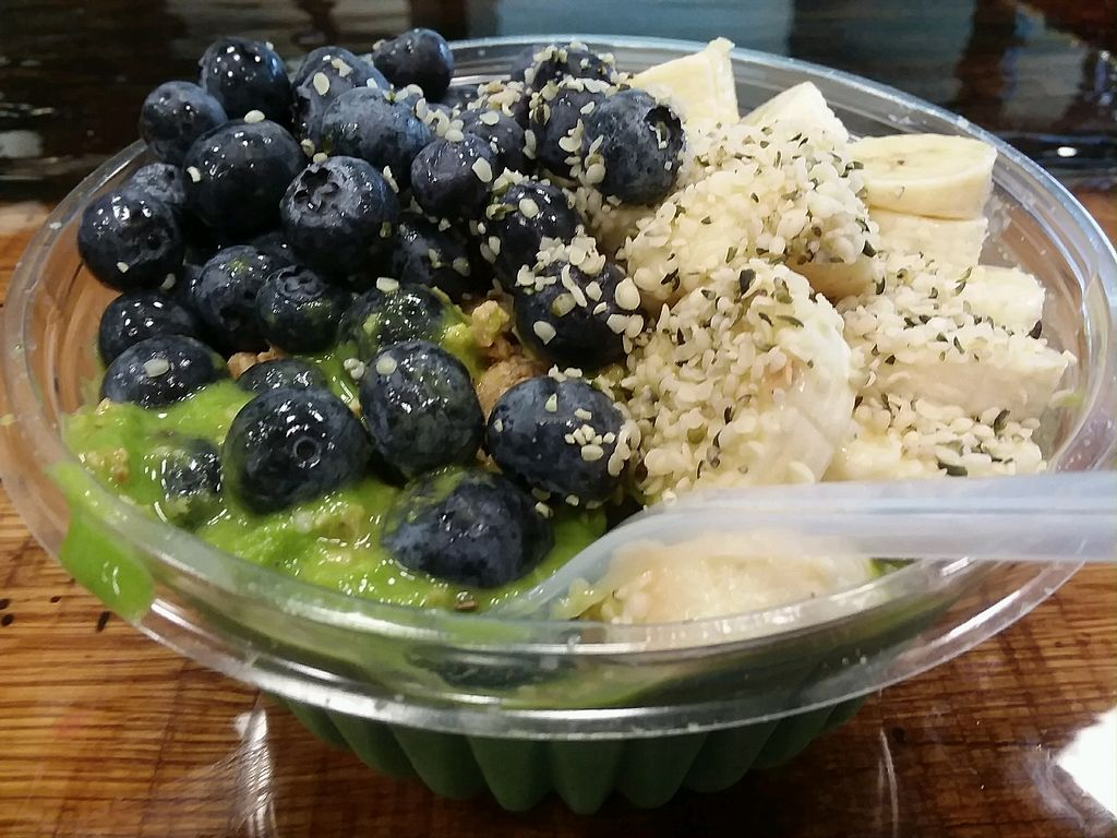 """Photo of Soul Bowls  by <a href=""""/members/profile/mshelene"""">mshelene</a> <br/>""""Kale Yeah"""" green bowl.  <br/> March 21, 2018  - <a href='/contact/abuse/image/112307/374080'>Report</a>"""