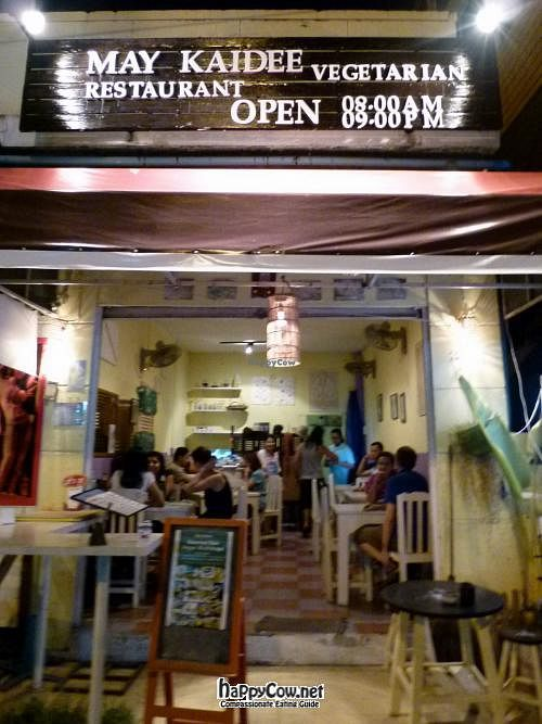 """Photo of CLOSED: May Kaidee Vegetarian Restaurant - Ratvithi Rd  by <a href=""""/members/profile/GlobalVegan"""">GlobalVegan</a> <br/> March 14, 2012  - <a href='/contact/abuse/image/11233/29390'>Report</a>"""