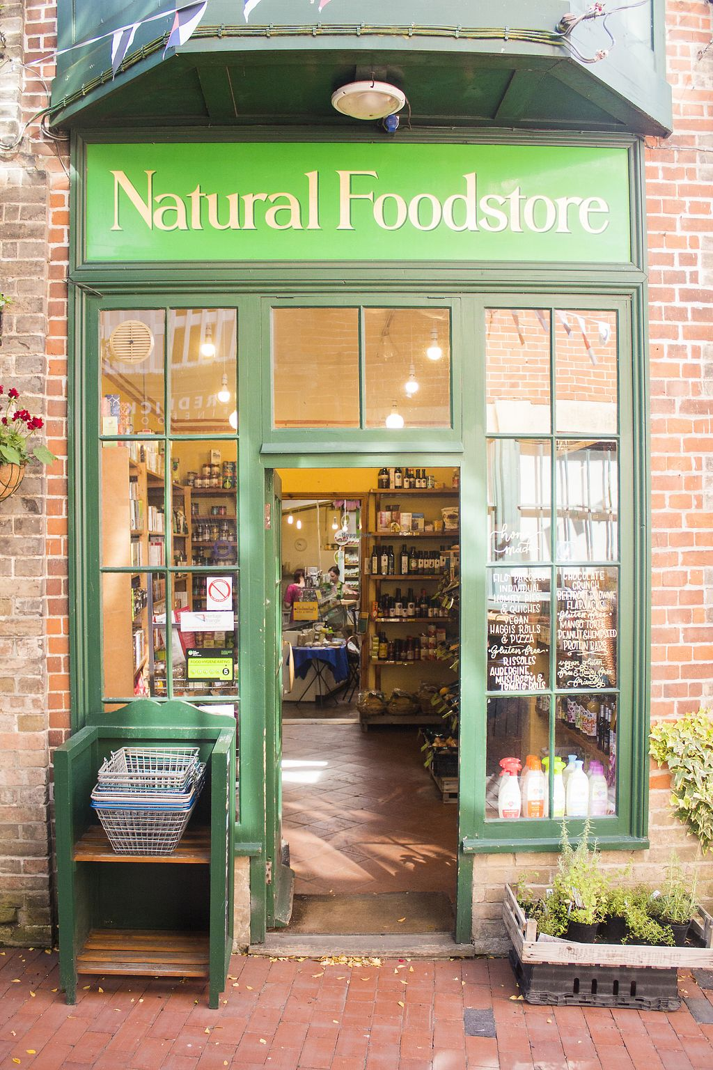 """Photo of Natural Foodstore  by <a href=""""/members/profile/WillJackson"""">WillJackson</a> <br/>Shop front <br/> February 18, 2018  - <a href='/contact/abuse/image/112341/360897'>Report</a>"""