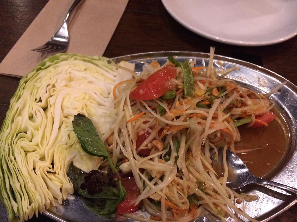 "Photo of Isarn Thai Soul Kitchen  by <a href=""/members/profile/Arti"">Arti</a> <br/>papaya salad <br/> February 18, 2018  - <a href='/contact/abuse/image/112380/360743'>Report</a>"