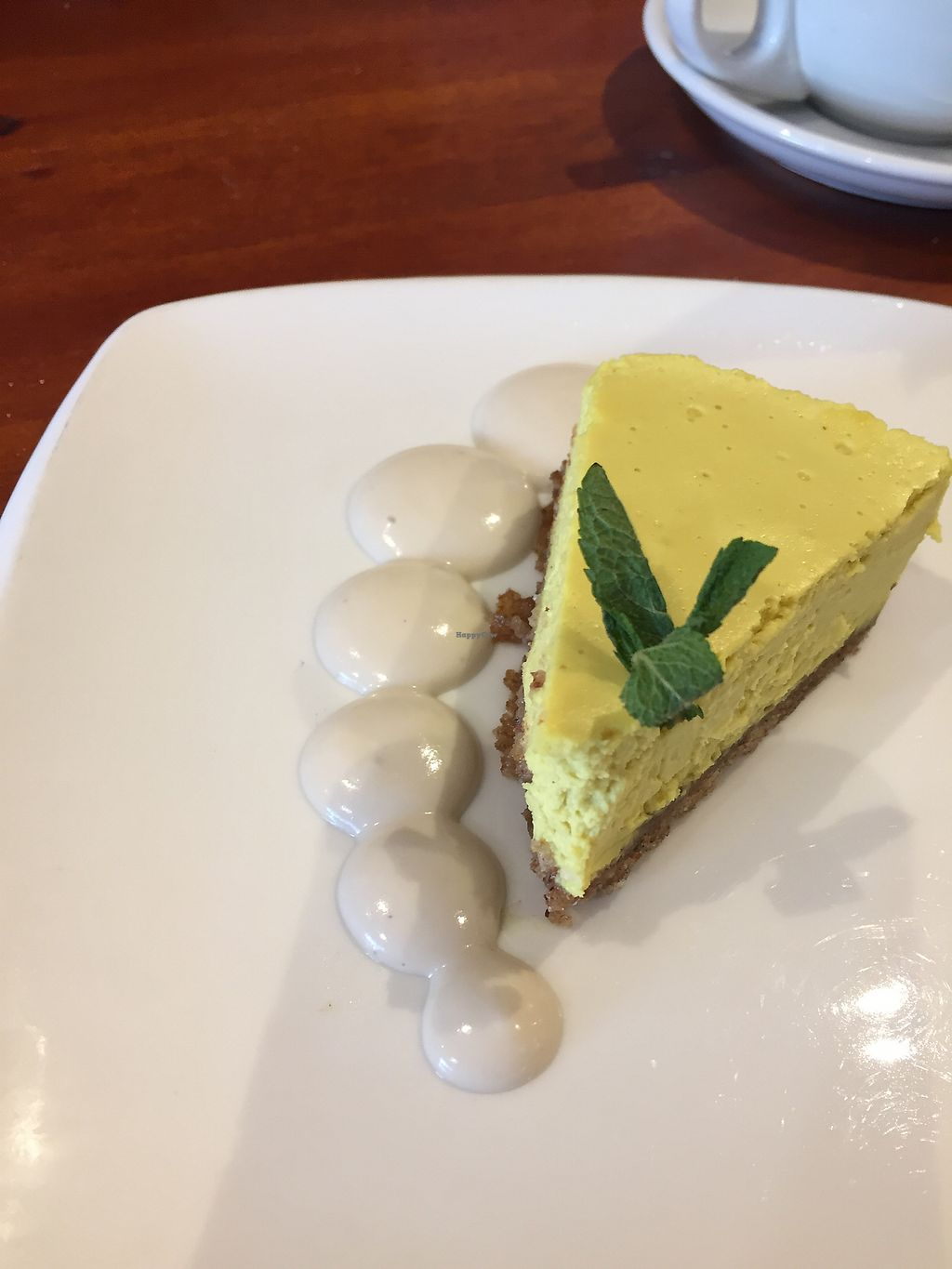 """Photo of Amrutha Lounge   by <a href=""""/members/profile/FionaHP"""">FionaHP</a> <br/>Delicious lemon cheesecake <br/> February 25, 2018  - <a href='/contact/abuse/image/112580/363796'>Report</a>"""