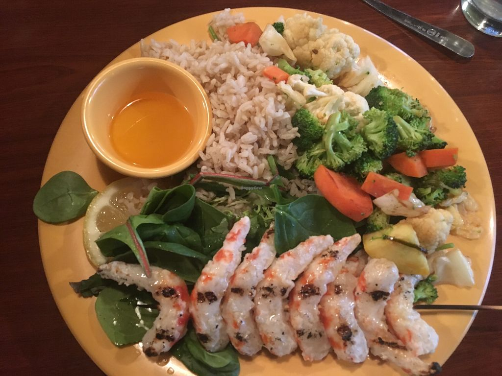 """Photo of Garlik Vegan  by <a href=""""/members/profile/Michael%20Isavegan"""">Michael Isavegan</a> <br/>Garlik Shrimp <br/> April 13, 2018  - <a href='/contact/abuse/image/112581/396680'>Report</a>"""