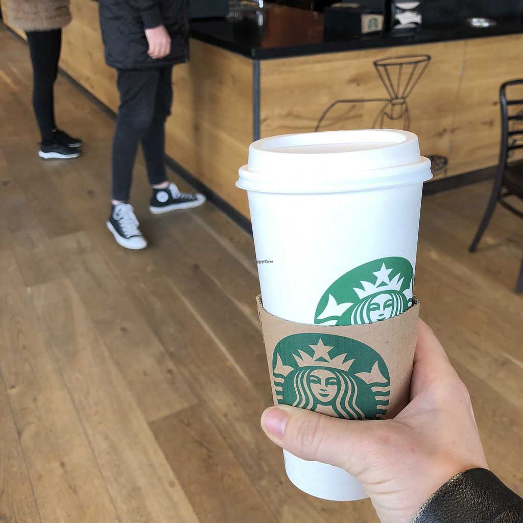 "Photo of Starbucks  by <a href=""/members/profile/TARAMCDONALD"">TARAMCDONALD</a> <br/>My favourite chai tea latte with soya milk! <br/> April 24, 2018  - <a href='/contact/abuse/image/112612/390463'>Report</a>"