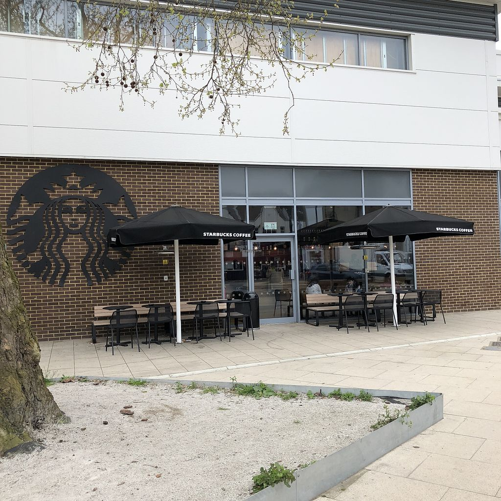 "Photo of Starbucks  by <a href=""/members/profile/TARAMCDONALD"">TARAMCDONALD</a> <br/>More outside seating <br/> April 24, 2018  - <a href='/contact/abuse/image/112612/390464'>Report</a>"